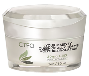 CBD Your Majesty Queen of all Creams Moisturizing Cream – 20mg